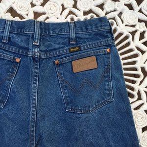 Wrangler Men's Denim Straight Leg Jeans